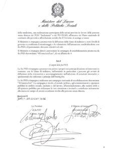 Protocollo d'Intesa